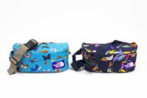 The 'Birds & Butterflies' Collection by North Face Boasts Vibrant Critters