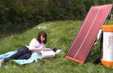 Solar Campsite Power Packs - The iLand Gives You Green Power in the Great Outdoors