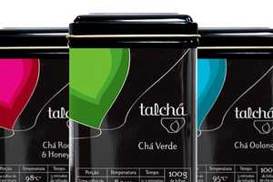 Talcha Tea Packaging by A10 Design is Infused With Color & Culture