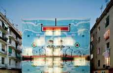 Pop Art-Wrapped Hotels - Hotel Arc del Teatre Has a Vibrant Facade that Projects a Distinct Image