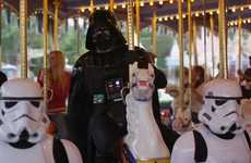 Villainous Vacation Videos - This Darth Vader Disneyland Video is Full of Laughs