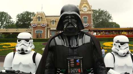 Darth Vader Disneyland Video