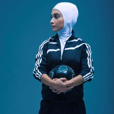 Athletic Headscarves - The Sports Hijab is Designed to Let Muslim Women Compete in Modesty