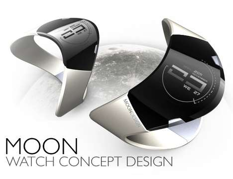 Moon Bracelet Watch