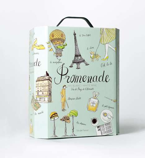 Promenade Wine Packaging