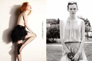 Karen Elson is Stunning in the Zoo 31 Summer 2011 Issue