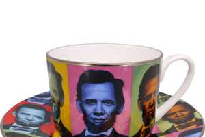 The Abraham Obama Tea Set Pits Two Iconic Leaders Together