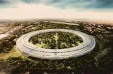 Spaceship Office Abodes - The Steve Jobs Apple Campus Concept is Out of This World