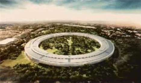 Steve Jobs Apple Campus