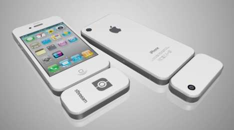 3D Smartphone Accessories - The Sthreeam 3D Camera Lets You Play James Cameron on Your iPhone