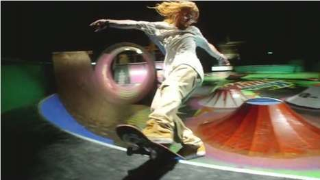 Arcade Skate Parks - The Mountain Dew Skate Pinball Ad Features an Epic Extreme Sports Arena