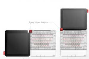 The Anderson Lifebook Works in Both Portrait and Landscape Modes