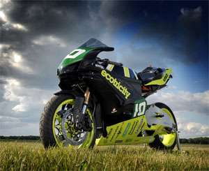 Wind-Powered Two-Wheelers - The Ion Horse is a Green Concept Superbike