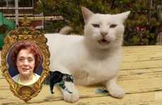 Telepathic Cat Commercials