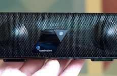 Micro-Sized Music Players - The Soundmatters Bluetooth Speaker Fits Perfectly Inside Your Pocket