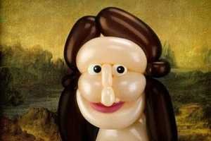 Larry Moss Airigami Recreates Famous Art Works Using Balloons