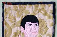 Sci-Fi Stitched Quilts