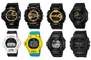 The New Casio G-Shock Collection has Futuristic and Robot-Like Qualities
