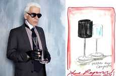 Designer Demitasses - Orrefors by Karl Lagerfeld will Add Some Couture to Your Canteen