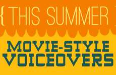 Summer Blockbuster Statuses - The Orange 'This Summer' Movie-Style Voiceover Makes the Mundane Epic