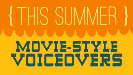 Orange This Summer movie-style voiceover