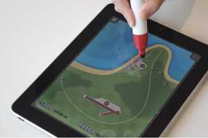 Scribbly Stylus Makes Tablet Interaction Simple as Primary School