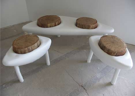 Cratere Benches by Binome-Jardin