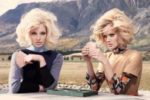 This Vogue Australia July 2011 Shoot Pairs Blondes with Board Games