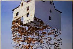 The Ben Grasso Exploded Structure Paintings are Hyperrealistic