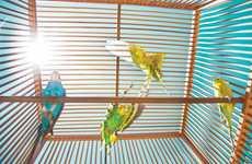 Birdhouse Benches