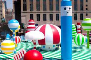 The FriendsWithYou Rainbow City Brightens the Town With Cheerful Color