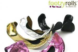 These Footzyrolls Rollable Shoes are Convenient and Functional