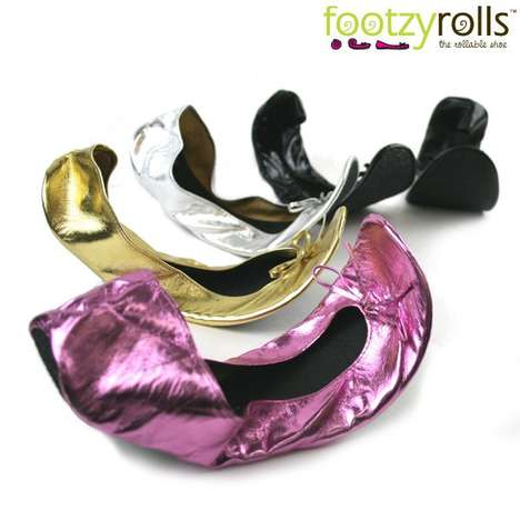 Footzyrolls Rollable Ballerina Shoes