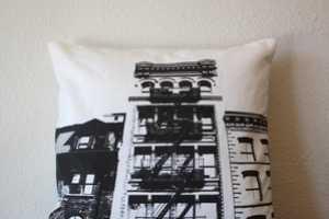 Urban Throw Pillows Pays Homage to Famous American Metropolises