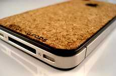 The iPhone 4 Cork Board from Slickwraps Gives Your Mobile a Soft Finish