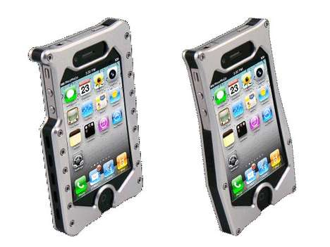 Heavy-Duty Smartphone Covers - The MeeMojo Aluminum iPhone 4 Case Can Withstand Abuse