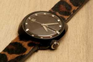 The MARCH LA.B AM1 Leopard Watch is Fiercely Fashionable