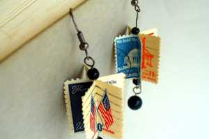 April Starr Uses Vintage Postal Materials to Create One-of-a-Kind Jewelry