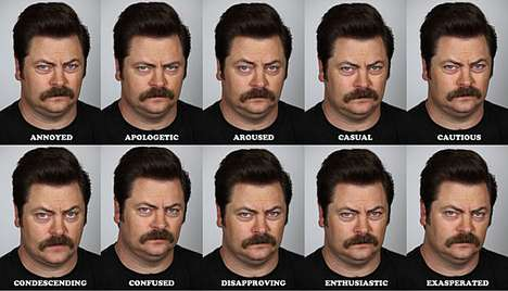 The Many Faces of Ron