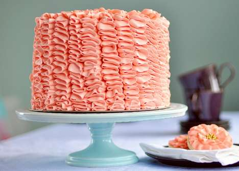 Rich Ruffled Celebration Cake