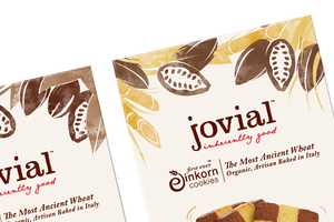 The Pearlfisher Jovial Cookie Packaging is Down to Earth