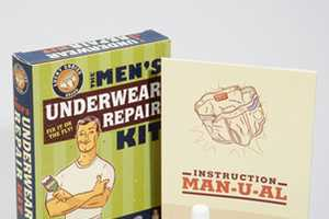 The Men's Underwear Repair Kit Will Help You in a Cinch