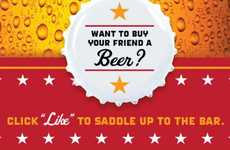 Drink-Buying Apps - The TGIFriday's Buy a Beer Campaign Allows You to Buy Rounds for Your Friends