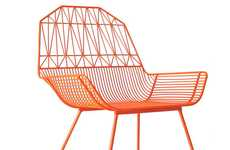 Bent Geometric Furniture