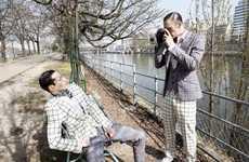 Mismatched Plaid Suits