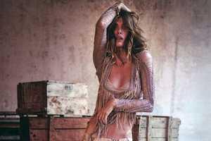 Elisa Sednaoui Blends Hippie and Yuppie Styles for D la Repubblica