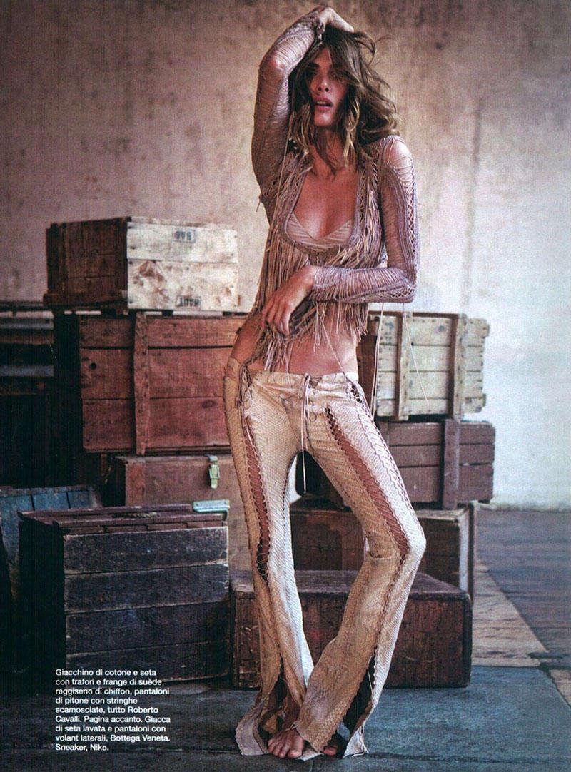 Laced-Up Boho Fashion