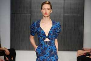 The YSL Cruise 2012 Collection Features a Bouquet of Color-Popping Dresses