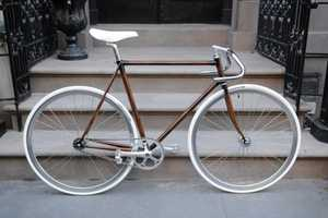 These Woodgrain Bikes Show Off the Craftsmanship of Rob Pollock