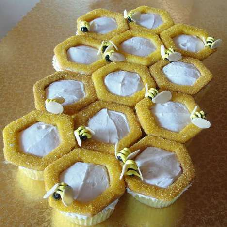 Bee-Happy Cupcakes